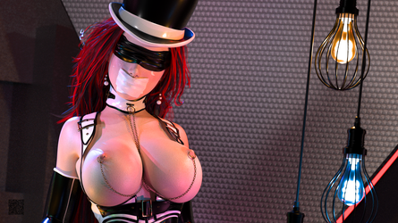 Magician's Assistant 001 - Bust by cwichura