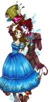 TB-Alice and the Mad Hatter by Navajo-girl