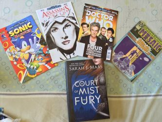 Free Comic Book Day 2016 Haul by Katrins23