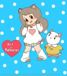BEE AND PUPPYCAT DRESS UP by LAUBoZ