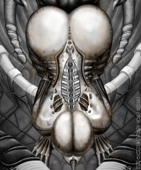 H.R. Giger Tribute by hombre-blanco