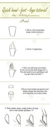 Quick hand-legs-foot tutorial by Hellobaby