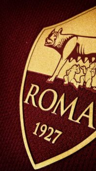 A.S. Roma Wallpaper Iphone SE Dark by Belthazor78