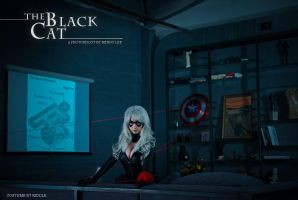 BLACK CAT: Practice makes PURRFECT by Benny-Lee