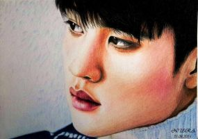 Do Kyungsoo - Colour Pencils by diamondnura