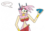 Request M.C Slave Amy Rose 2 by Power1x