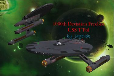 1000th Deviation Free Model USS T'Pol by jaguarry3