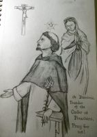 Saint Dominic by Cecilia37