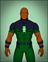 Green Lantern - Justice Lords by DraganD