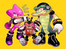 team chaotix by mephi8