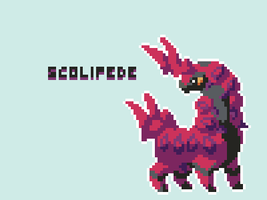 [Pokecember] Scolipede by RetroFeather