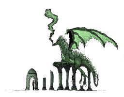 Green Wyrm by mraston