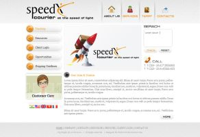 Speed Courier by preet618