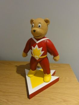 SuperTed Statue 3 by Mutronics