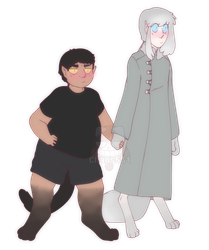 Pluto and Gray by Chaos55t