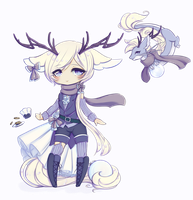 Tea Dragon Babe 48hr Auction [Closed] by AJRoanoke