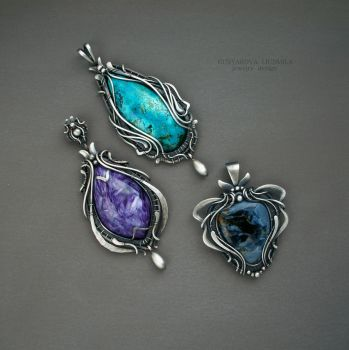 collectible pendant by KL-WireDream
