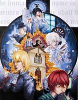 Death Note - Heirarchy by swift-winged-soul