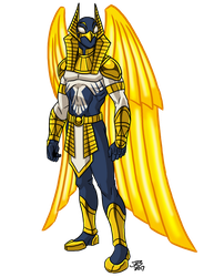 SPL: Winged Avenger by ProdigyDuck