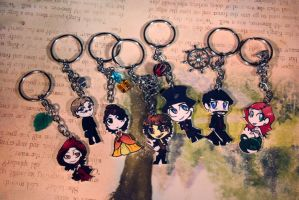 Chibi Key Chains Once Upon A Time by KouranKiyo