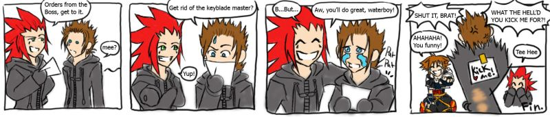 Axel is a Meanie by Quinchilla