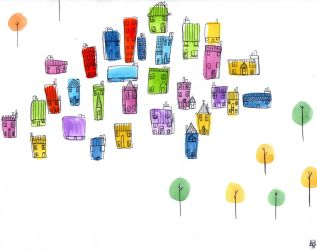 Houses by mayke