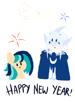 Happy New Year 2018 by Chirpy-chi