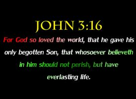 JOHN 3:16-The True Meaning of Christmas by DRY-Designs