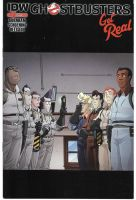 Ghostbusters Get Real miniseries cover by dth1971