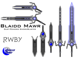 Blaidd Mawr - RWBY Fan Weapon by Arkus0