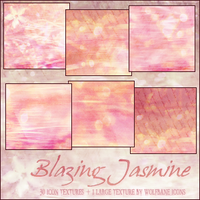 Blazing Jasmine Texture Set by jordannamorgan