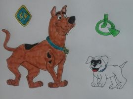 Scooby-Doo and Bandit by JQroxks21