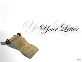 Your Letter by tdotkidd