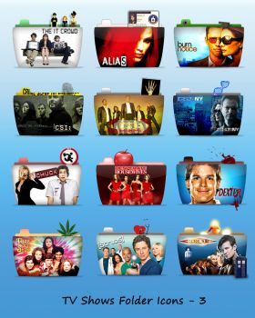 TV Folder Icons Set 3 by ashtray4241
