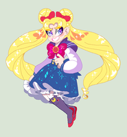 Sailor Moon by MsCreepyPlagueDoctor