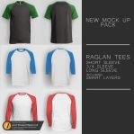 Men's Raglan Tee Pack by TheApparelGuy