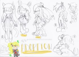 :: Adoptables #3 :: CLOSED:: by Chobits13