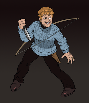 Mrs Voorhees AKA The Original Crystal Lake Killer by AngusBurgers