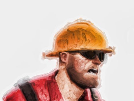 Team Fortress 2 - engineer by carlibux