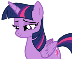 Twilight Sparkle Smiling Sweetly by AndoAnimalia