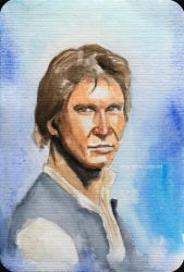 Han Solo from Corellia by aliciayellowlodge