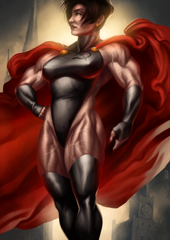 Red Daughter by Soviet-Superwoman
