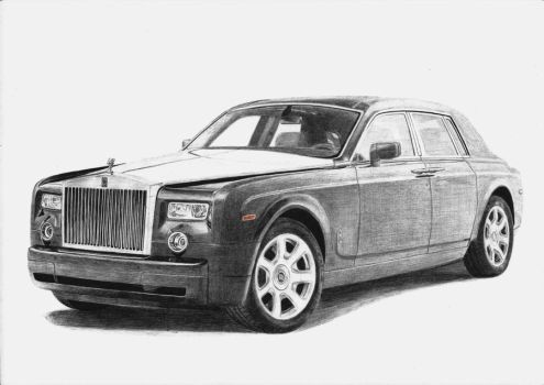 Rolls-Royce Phantom Tungsten by PSDraw