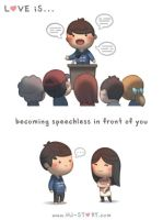 96. Love is... Speechless by hjstory