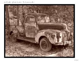 Old Farm Truck by LadyAutumnDesigns