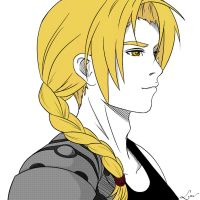 Summer Doodle #02 - Edward Elric by Law-lie