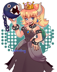 Bowsette? Bowsette by Nemufrog