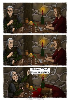 Witcher 3 Fanzeichnung by AngryWithTheUniverse