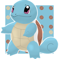 Squirtle #007 by BadlyDrawnPokemon