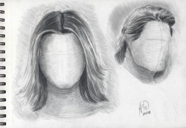Hair study by Architect-of-Dreams